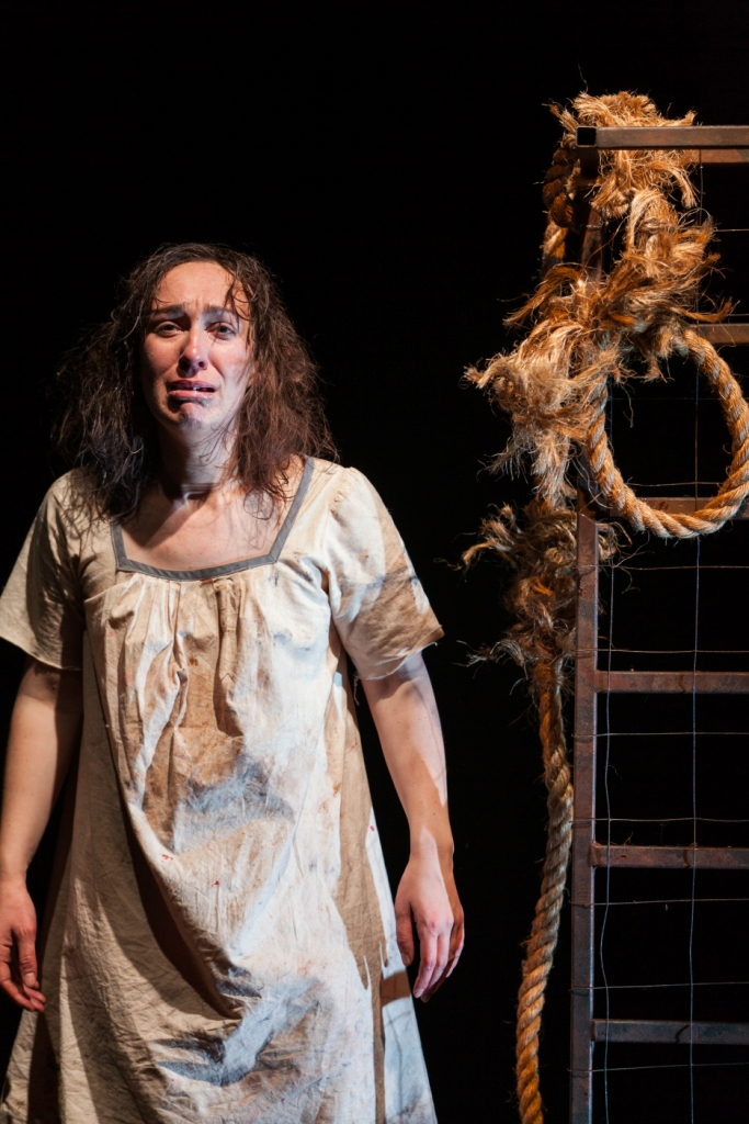 Emily Goddard in This Is Eden , HotHouse Theatre