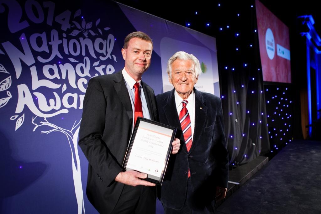Bob hawke landcare award landcare australia