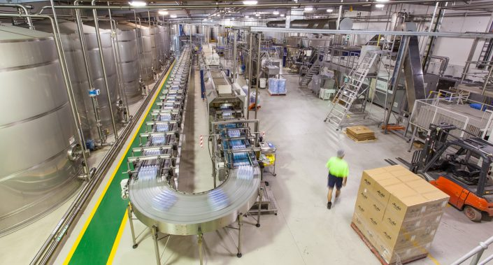 Editorial photoshoot for the Asahi factory in Albury, NSW